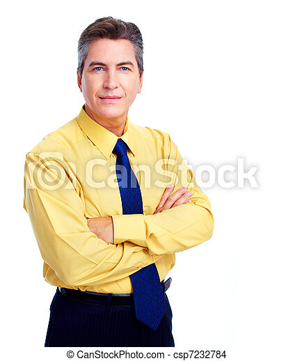 Business man. - csp7232784