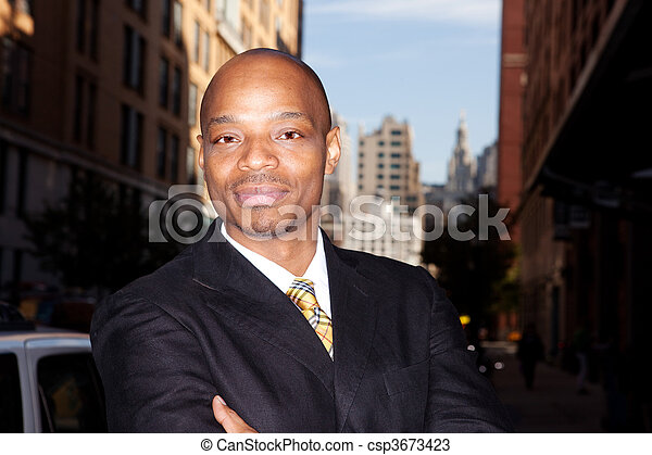 Business man - csp3673423