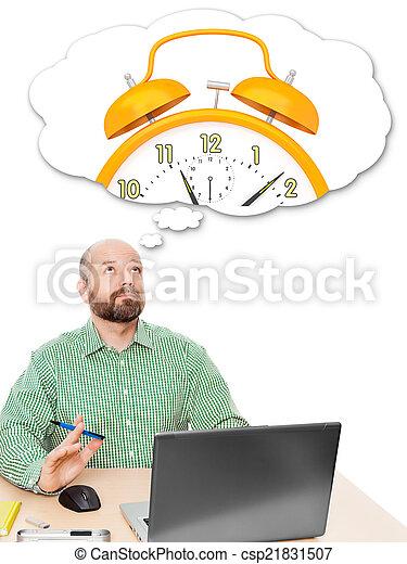 business man thinking - csp21831507