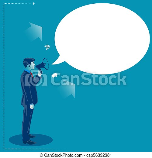 Business marketing concept vector illustration - csp56332381