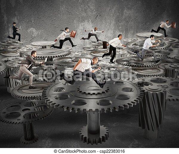 Business mechanism system - csp22383016
