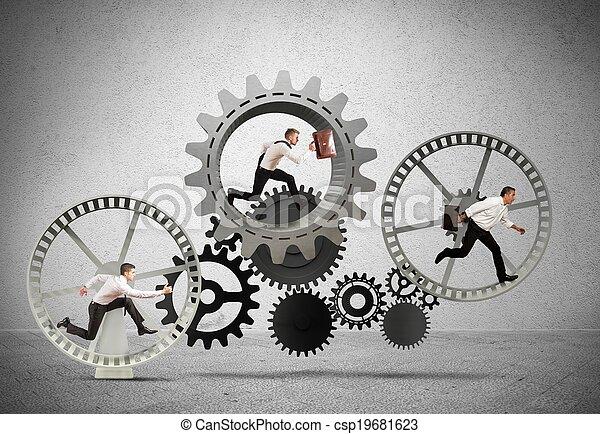 Business mechanism system - csp19681623