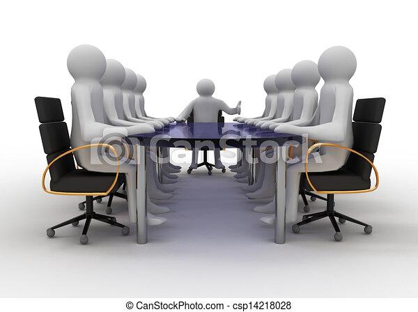 business meeting - csp14218028