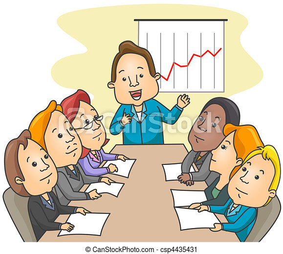 business meeting rh canstockphoto com church business meeting clipart Church Business Meeting Clip Art