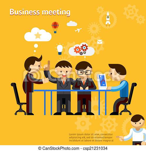 Business meeting - csp21231034