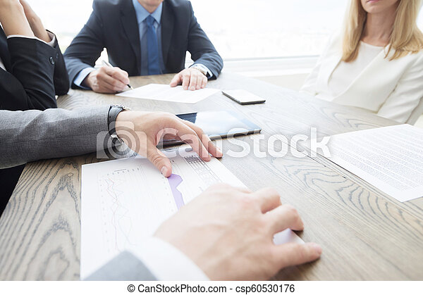 Business meeting in office - csp60530176