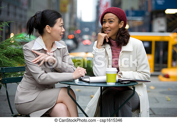 Business Meeting in the City - csp1615346