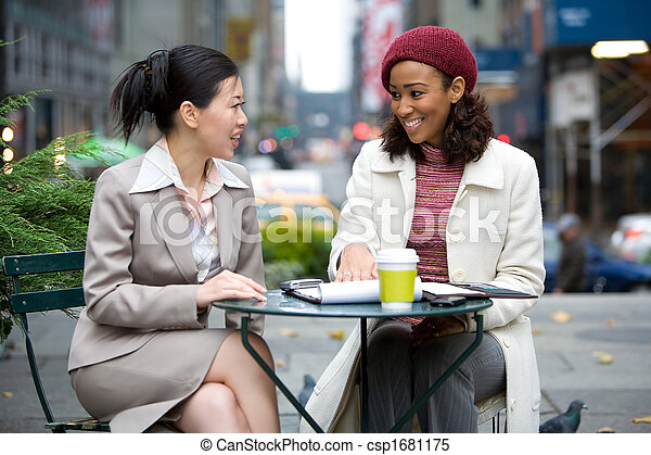 Business Meeting in the City - csp1681175