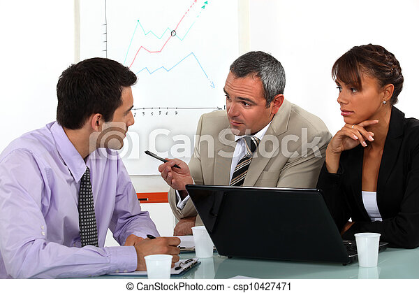 Business meeting - csp10427471