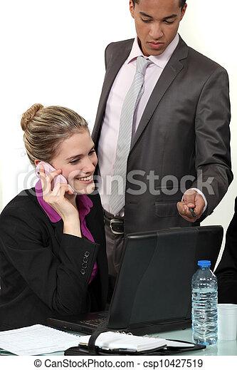 Business meeting - csp10427519