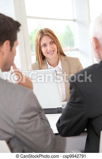 Business meeting - csp9942791