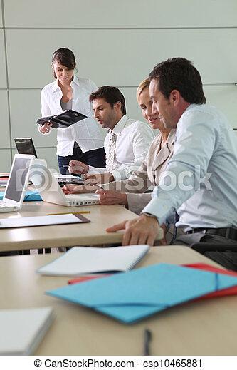 Business meeting - csp10465881
