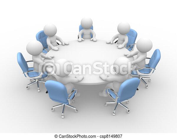 Business meeting - csp8149807