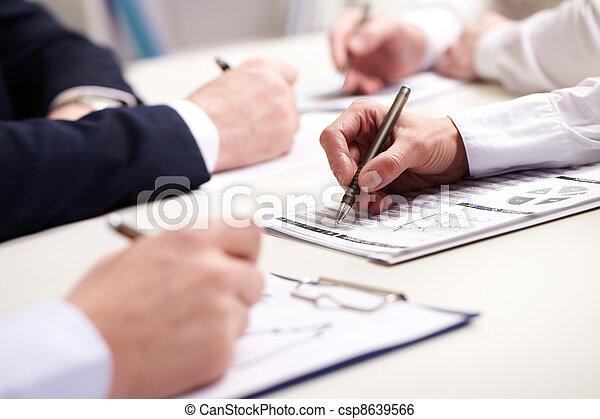 Business meeting - csp8639566