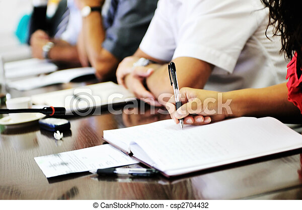 business meeting  - csp2704432