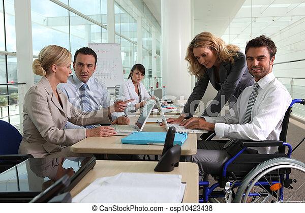 Business meeting - csp10423438