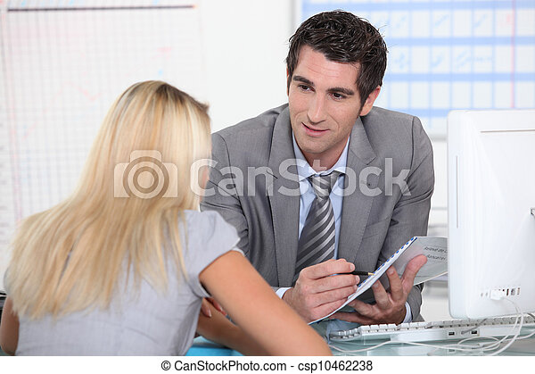 Business meeting - csp10462238