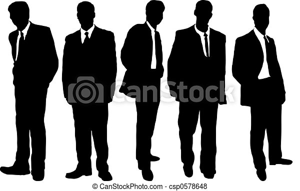 business men casual - csp0578648