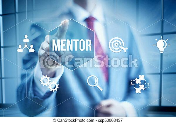 Business mentoring - csp50063437