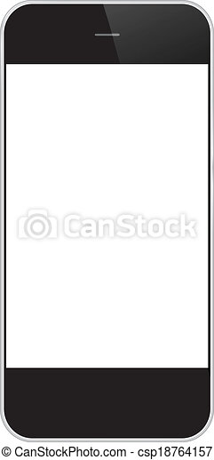 Business Mobile Phone Isolated - csp18764157