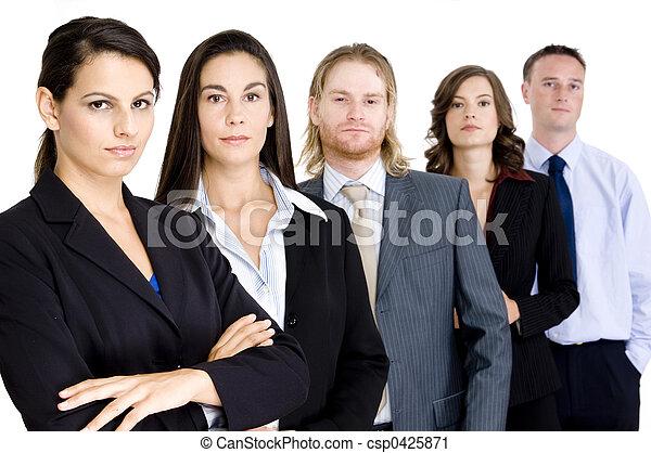 business, moyenne - csp0425871