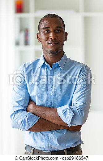 business národ, -, mládě, americký, čerň, afričan, portrét, voják - csp29186347