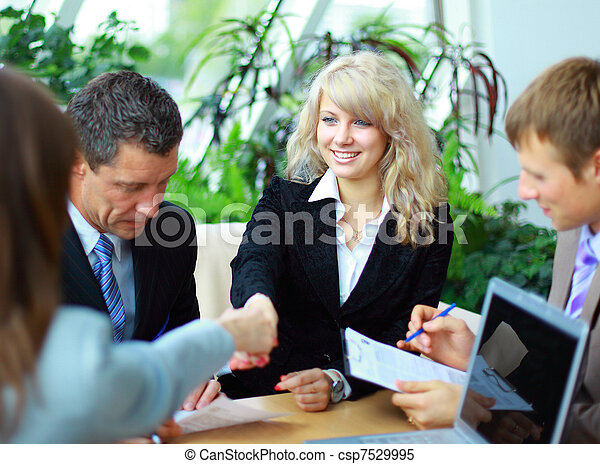 business národ, ruce, otřes, up, dohotovení, setkání - csp7529995