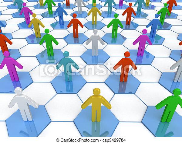 Business Network  - csp3429784