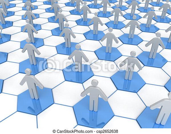 Business Network  - csp2652638