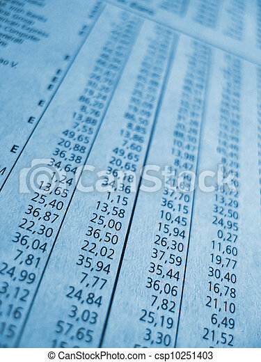 business numbers - csp10251403