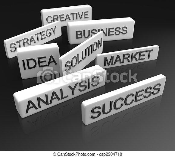 Business objective concept - csp2304710