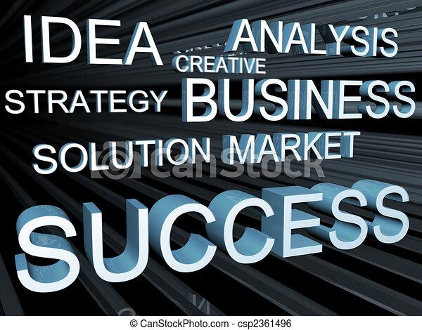 Business objective concept - csp2361496