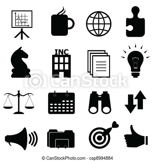 Business objects icon set - csp8994884