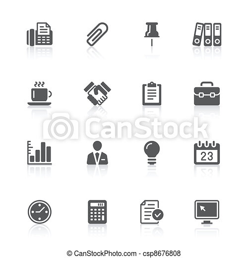 business & office icons - csp8676808