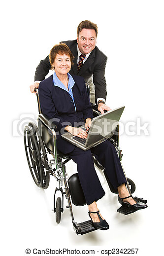 Business Partners - Disability - csp2342257