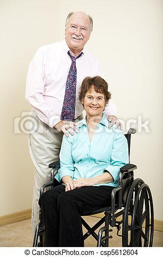 Business Partners - Wheelchair - csp5612604