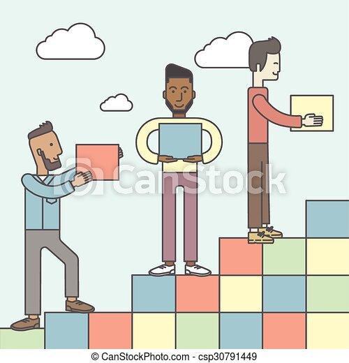 Business partnership. - csp30791449
