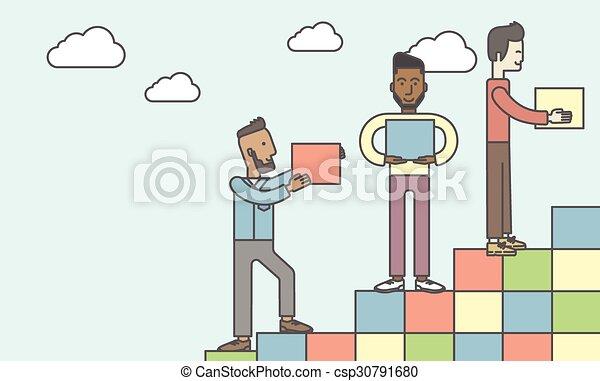 Business partnership. - csp30791680