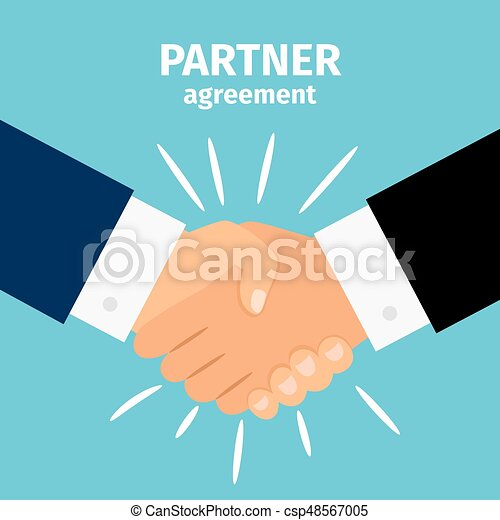 Business partnership handshake - csp48567005