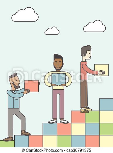 Business partnership. - csp30791375