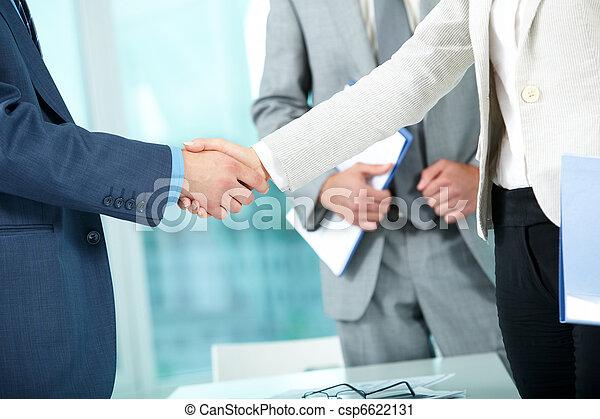 Business partnership - csp6622131
