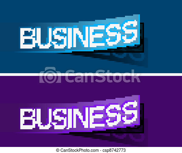 Business peel off vector design - csp8742773