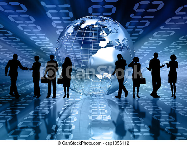 Business people - csp1056112