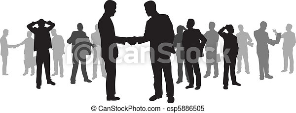 business people - csp5886505