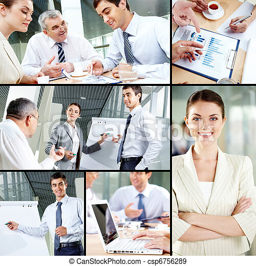 Business people concept - csp6756289