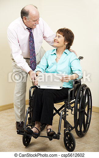 Business People - Disability - csp5612602