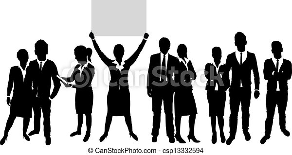 business people  - csp13332594