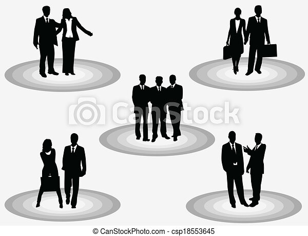 business people  - csp18553645