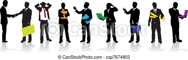 business people - csp7674803