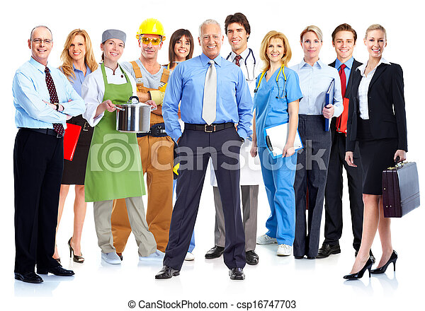 Business people group. - csp16747703